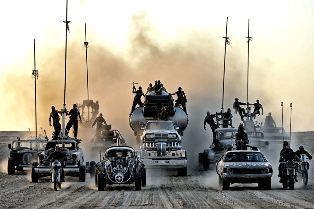 Oh hey, Raiders fans tailgating...wait, crap (Photo credit: madmaxmovie.com)