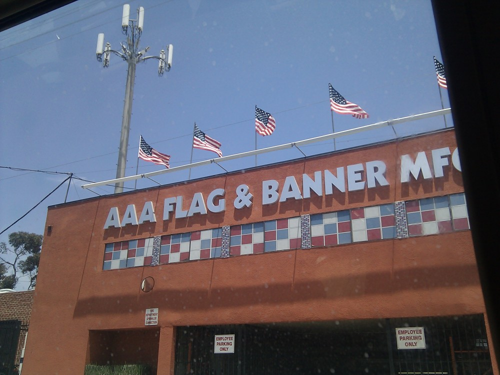 USC had more flags than this store. Probably.